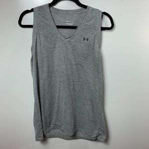 Under Armour Tank Tops Gray Women's Large